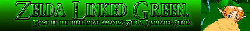 Zelda Linked Green